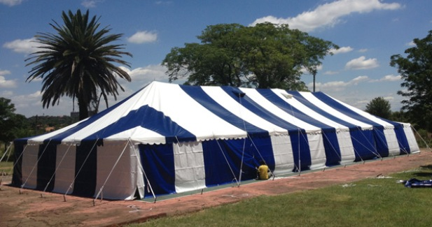 7 X 12 m Marquee Tent for Church Planting & My Foundation | Judea Harvest Profile
